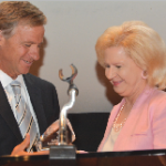 "Governor Bill Haslam  recently presented Helen H. ""Tootie"" Haskins with her WIN award for exemplary service to Tennessee and to the state Senate in her 33-year career on Capitol Hill. Along with Tootie, staff leader of retiring Democratic Sen. Douglas Henry,  Nancy Russell was also honored at the Women in Numbers ceremony."