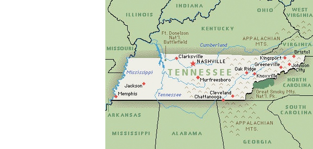 State of TN map | TheNews | Nashville Community Newspapers