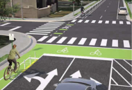 The bike lanes along Magnolia Boulevard will connect Hillsboro Village and other West Nashville neighborhoods with The Gulch and downtown.
