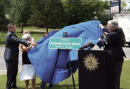Nash Family  Rep. Powell Unveil Sign-1