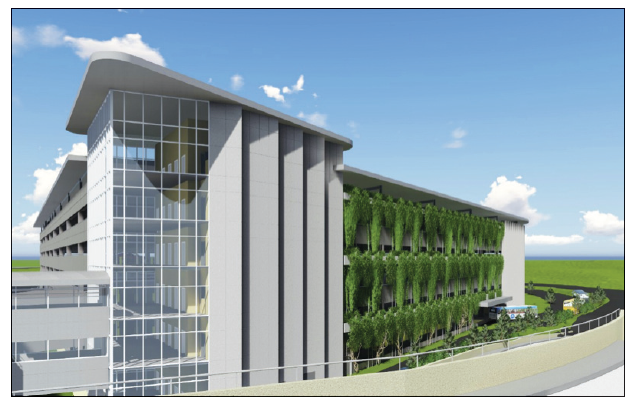 Parking and Transportation Center is the First Major Project