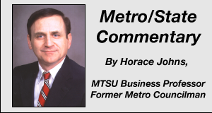 Horace Johns Metro State Commentary